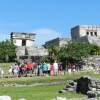 Explore ancient ruins in a circuit from Riviera Maya