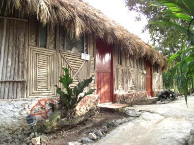 Mayan village Ek Balam Uhnajil